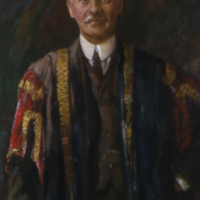Portrait of Sir Frederick Haultain