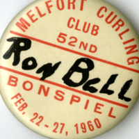 Melfort Curling Club 52nd Bonspiel Feb. 22-27, 1960