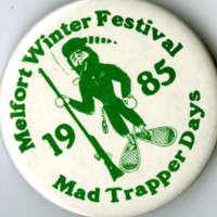 Melfort Winter Festival Mad Trapper Days 1985