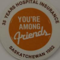 35 Years Hospital Insurance - Saskatchewan 1982