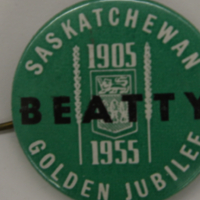 Saskatchewan Golden Jubilee - 1905-1955 - Beatty