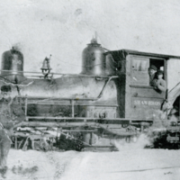 Locomotive used on Shaw Bros. Railroad