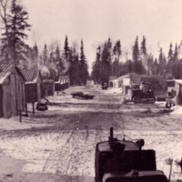 Jan. 1940 Bannock logging camp