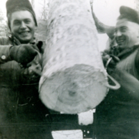 Mike Kozak and John Ogurek Nov. 1957