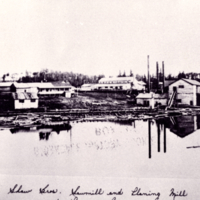 Shaw Bros. Sawmill and Planing Mill at Prairie River