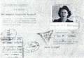 Margaret Oliphant's immigration and travel papers