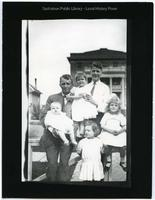 Udo Schrader with five children