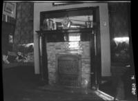Corner of living room of the Helen and Udo Schrader home at 321 6th Avenue North