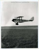 DH 60 Moth aircraft taking off