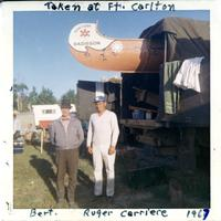 Taken at Ft. Carlton - Bert, Roger Carriere 1967