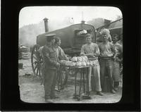 How the British force is fed, bread ovens of the army in France