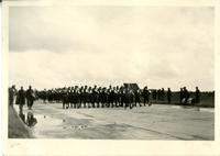 Sailors lead parade - July 1 - '45 - Germany