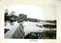 Yamaska - The dam - Farnham Que. 1942