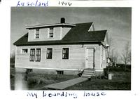 Luseland 1946 My boarding house
