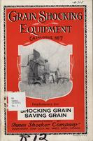 Grain Shocking Equipment Catalogue No. 7