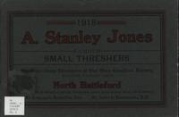 A. Stanley Jones Famous Small Threshers