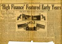 """High Finance"" Featured Early Years"
