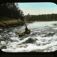 French River - Shooting Rapids