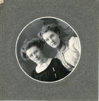 [Two women in a boat]