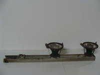 Track light - three sockets and two lamps