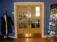 Small glazed door #5 and #6