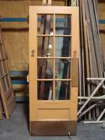 Small glazed door #1