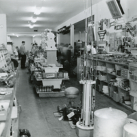 [Hardware department in Co-op store]