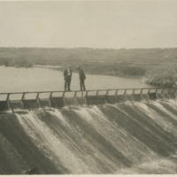 The Dam, Eastend.- 1914