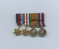 [Four war medals]