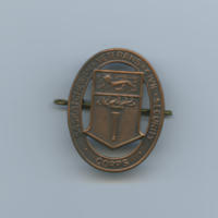[Saskatchewan Veterans Civil Security Corps pin]