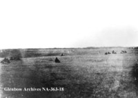 First engagement in battle of Fish Creek, Saskatchewan.