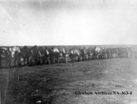 Boulton's scouts on Riel Rebellion expedition, western Canada.