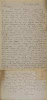 Kamloops to Times, Winnipeg re report regarding Colonel Quimet's battalion and General Strange's command also regarding Captain Steele's Health.