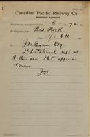 J.N., Red Rock to J.M. Egan re 2nd detachment left - 365 officers and men.