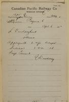 E. Dewdney, Regina to L. Van Koughnet, Ottawa re Applegarth and wife escaped Indians.