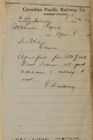 E. Dewdney, Regina to Fred White, Ottawa re Fort Macleod Blood Indians quiet, anxious, willing to work.