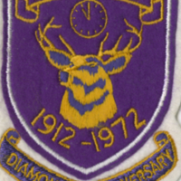 B.P.O. Elks 1912-1972 Diamond Anniversary badge
