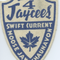 District 4 Jaycees Swift Current, Moose Jaw, Shaunavon [badge]