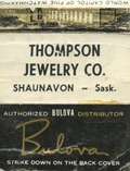 Thompson Jewelry Co. [matchbook]