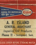 A. R. Island General Merchant Imperial Oil Products