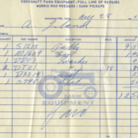 C.H. Behrman & Son [business receipt]