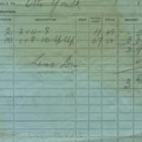 Geo.Bar Lumber Co., Limited [business receipt]