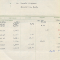 Barr Lumber & Supply Co. Limited [business receipt]