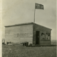 "First store in ""Shaunavon"" June 26th 1913"