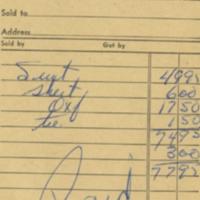 J. B. Innes Company [business receipt]