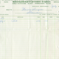 Busse Bros. Implements Ltd. [business receipt]