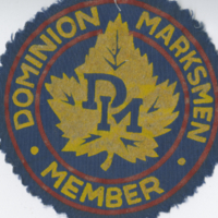 Dominion Marksmen Member badge