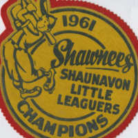 1961 Shawnees Shaunavon Little Leaguers Champions badge