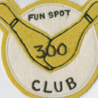 Fun Spot 300 Club badge