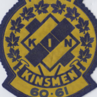 Pee-Wee Kin Kinsmen 60-61 badge